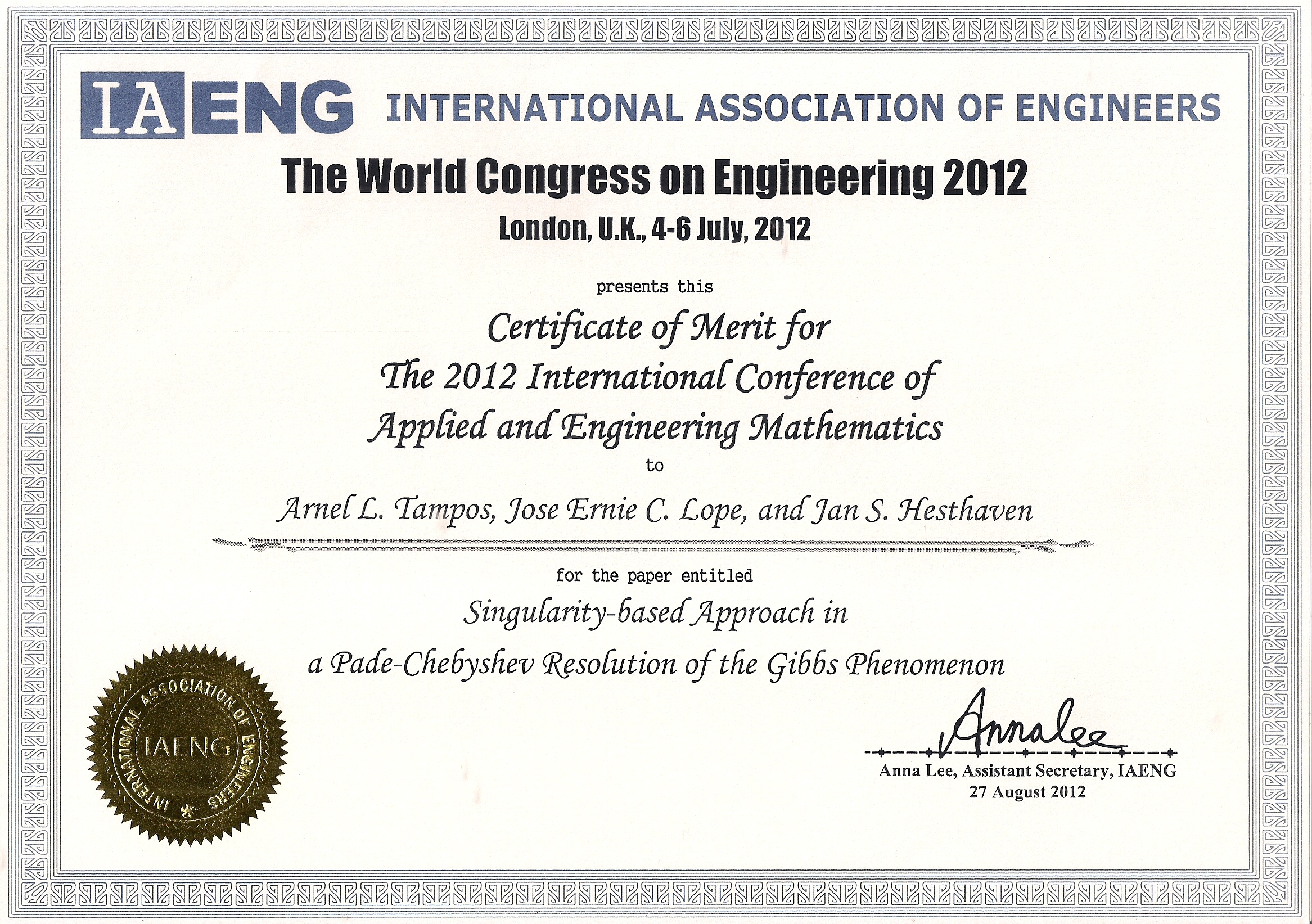 Merit Certificate For Students Zrom